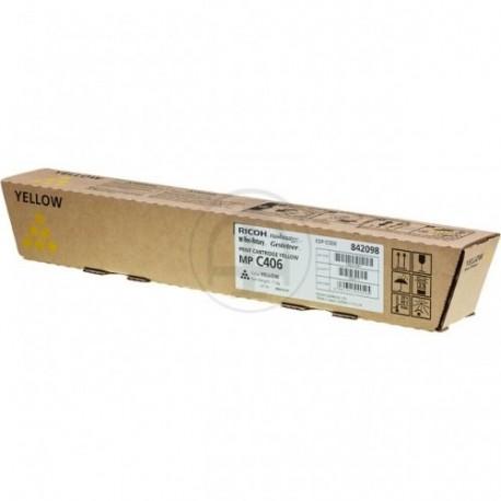 Ricoh MPC307 6K Yellow Laserkasetti