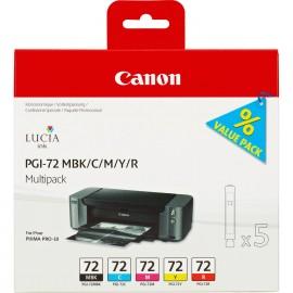 Canon PGI-72 MBK/C/M/Y/R Multipack (Pro-10)