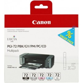 Canon PGI-72 PBK/GY/PM/PC/CO Multipack (Pro-10)