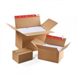 Postituslaatikko A4 ColomPac CP141 - pikapohja, tarrasuljenta ja repäisynauha