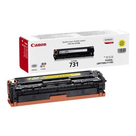 Canon 731Y 1,5K Yellow Laserkasetti