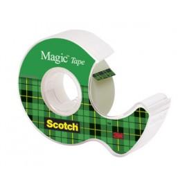 Asiakirjateippi katkojassa 12mm Scotch 810 Magic