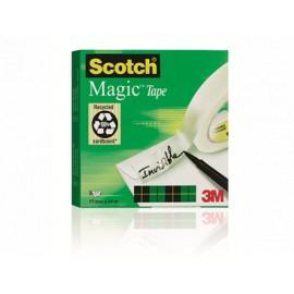 Asiakirjateippi 19mmx66m Scotch 810 Magic - toimistoteippi surkulutukseen