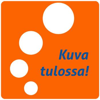Kulmalukkosalkku A4 Muovi Sininen PP Frost - kulmakuminauhasuljenta ja kolme läppää