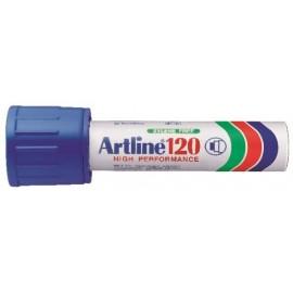 Huopakynä Artline 120 Sininen 20mm viistokärki