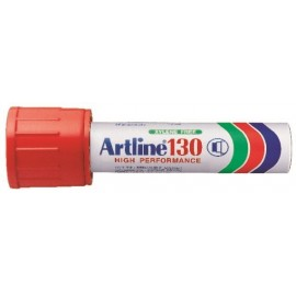 Huopakynä Artline 130 Punainen 30mm viistokärki
