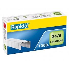 Nitomanasta 24/6 Rapid Standard /1000kpl (rasia)