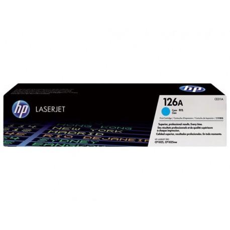 HP CE311A 126A Laserkasetti cyan 1k