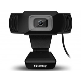 Sandberg Saver USB Webcam Black
