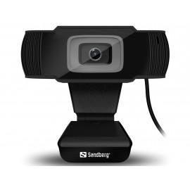 Sandberg Saver USB Webcam Black