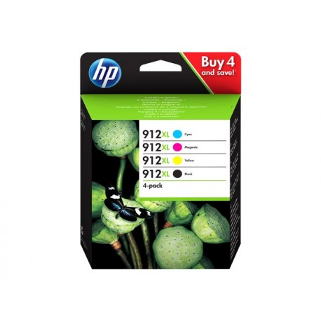 HP No 912XL Value Pack C/M/Y/K