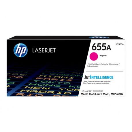 HP 655A Magenta 10,5K Laserkasetti (CF453A)