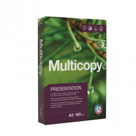 MultiCopy Presentation A3 160g/250 Toimistopaperi - ympäristöystävällinen premiumluokan paperi