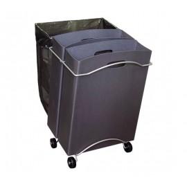 Reco R Kierrätysteline 3-osainen