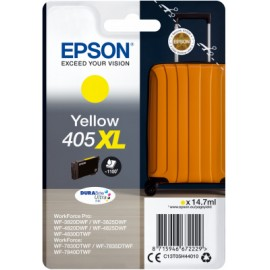 Epson 405XL Yellow Mustepatruuna