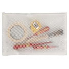 Snopake EPPE Zippa Bag A4 Plus - ekologinen säilytystasku kovaan käyttöön