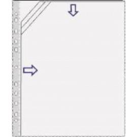 Trio-kansiotasku A4 (3-osainen muovitasku)