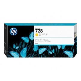 HP 728 Keltainen 300ml Mustepatruuna