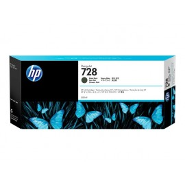 HP 728 Matte Black 300ml Mustepatruuna