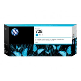HP 728 Cyan 300ml Mustepatruuna