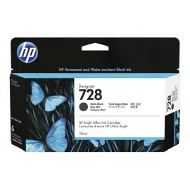 HP 728 Matte Black 130ml Mustepatruuna