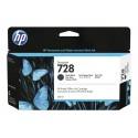 HP 728 Matte Black 130ml Mustepatruuna