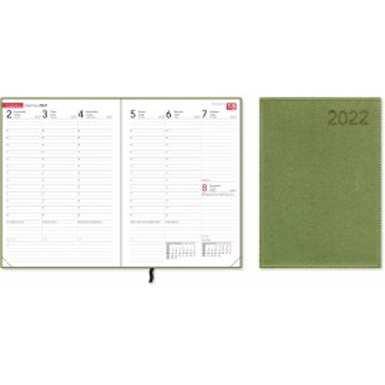 Compact Trend Green 2022 Pöytäkalenteri