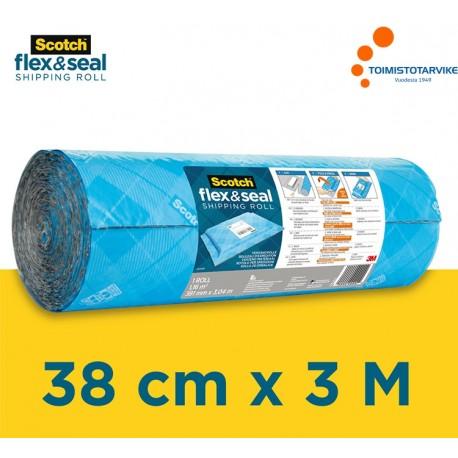 Scotch Flex & Seal 38cm x 3m Pakkausrulla