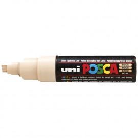 UNI PC-8K Paint marker 8mm Valkoinen