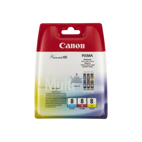 Canon CLI-8CMY Value Pack *EOL*