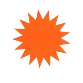 Tähtikartonki Punainen 23cm /20kpl (pkt) - näyttävään myymälämainontaan