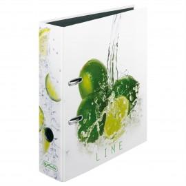 Mappi Lime 80mm Herlitz - virkistä toimistoa raikkaiden marjojen ja hedelmien kuoseilla