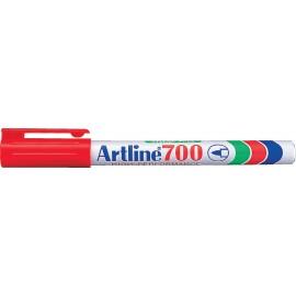 Huopakynä 0,7mm Punainen Pyöreä Artline 700 - kapea, edullinen permanent marker