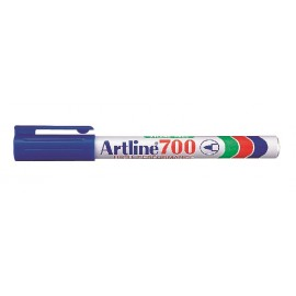 Huopakynä 0,7mm Sininen Pyöreä Artline 700 - kapea, edullinen permanent marker