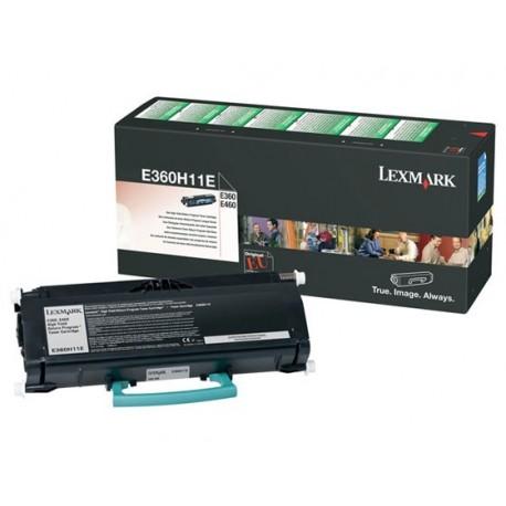 Lexmark E360H11e Laserkasetti 9K Musta (E460, E360