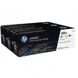 HP CF370AM 305A Laserkasetti 3-pack c/m/y 3x2.6k