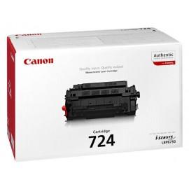 Canon 724 Laserkasetti musta 6K (LBP6750,LBP6780)