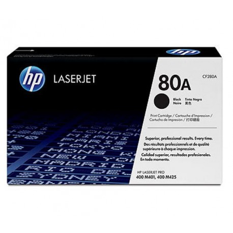 HP CF280A 80A Laserkasetti musta 2.7k