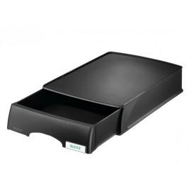 Säilytyslaatikko lomakkeille Leitz Plus Musta