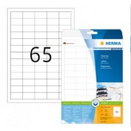 herma 5027 tarra 38,1x21,2mm 65-jak. /25 arkkia