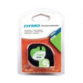 dymo letratag paperiteippi valk. 91220