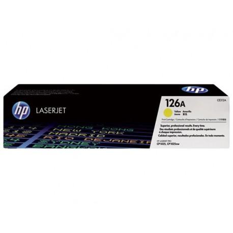 HP CE312A 126A Laserkasetti keltainen 1k