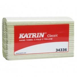 Katrin 34337 Classic käsipyyhe C-Fold keltainen