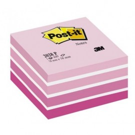 Post-It 2028P Pinkki pastellikuutio