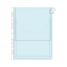 Paljekansiotasku A4 160my PVC /10kpl (pkt)