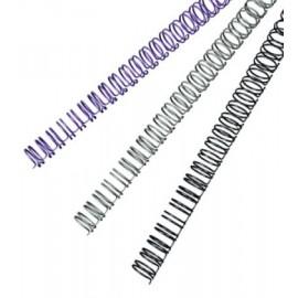 metallikierre  9,5mm valkoinen 65 sivua,  100 kpl/ltk