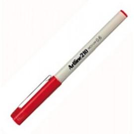Kuitukynä Artline 210 0,6mm Punainen