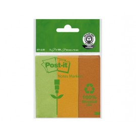 Post-It 671-3R EKO 25x76mm /3 liuskaa