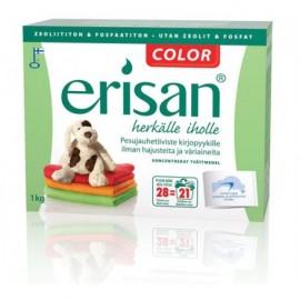 Pyykinpesujauhe Erisan Color hajusteeton 1kg