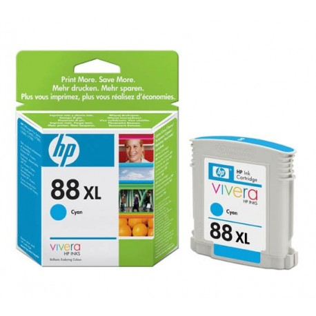 HP No 88XL Mustepatruuna Cyan